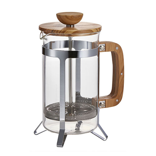 HARIO CAFÉ PRESS OLIVE WOOD 4CUPS