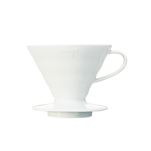 HARIO COFFEE DRIPPER V6002 CERAMIC WHITE