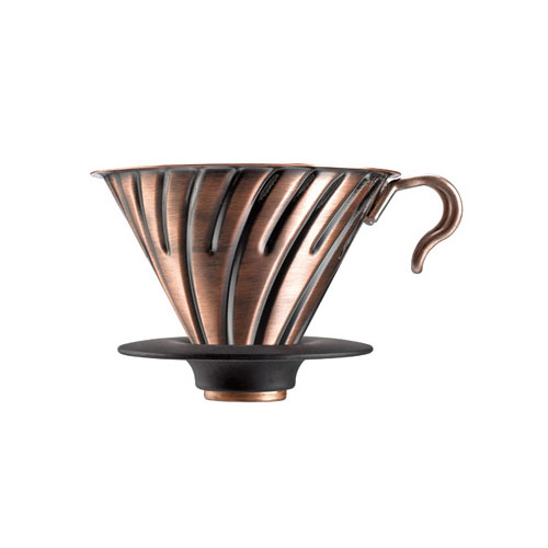 HARIO METAL COFFEE DRIPPER V60 02 COPPER