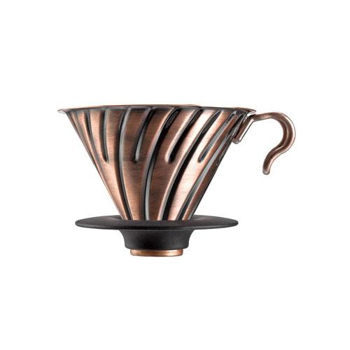 HARIO METAL COFFEE DRIPPER V60 02 COPPER