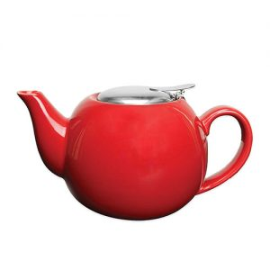 PRIMULA OXFORD 24OZ. CERAMIC TEAPOT WITH STAINLESS STELL INFUSER